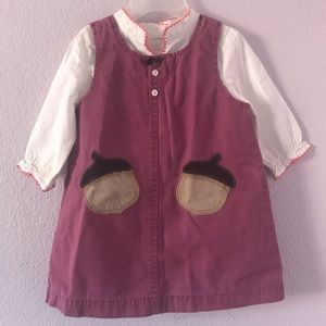 Vintage light purple GAP cotton dress